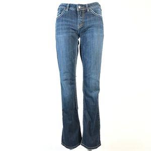 Silver natsuki bootcut jeans 29x31